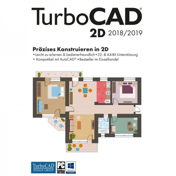Avanquest TurboCAD 2D 2018/2019