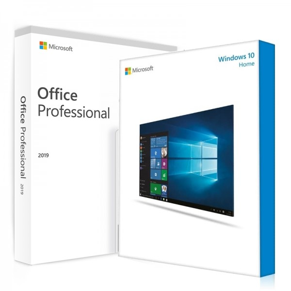 Windows 10 Home + Office 2019 Professional