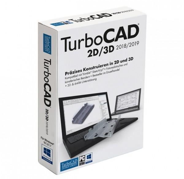 Avanquest TurboCAD 2D/3D 2018/2019