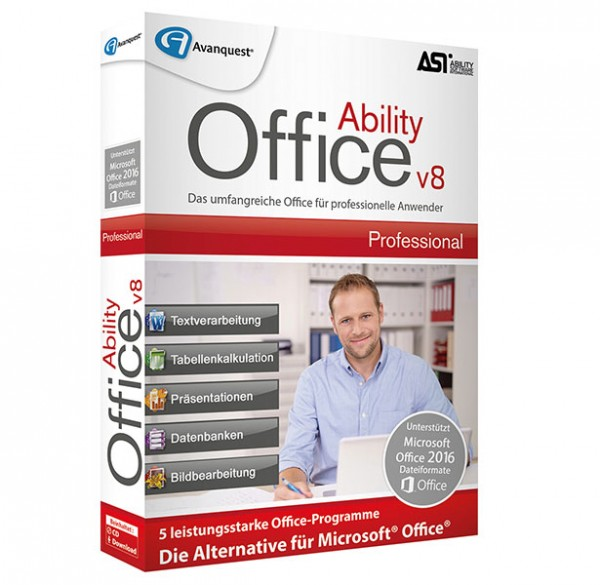 Avanquest Ability Office 8 Professional