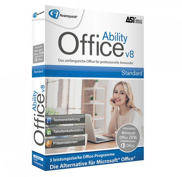 Avanquest Ability Office 8 Standard